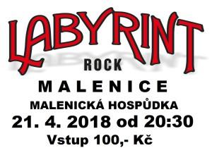 Labyrint plakát MALENICE