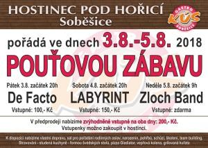 plakát Soběšice 2018