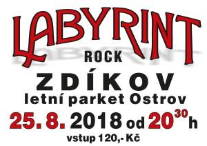 plakát Zdíkov 25.8.