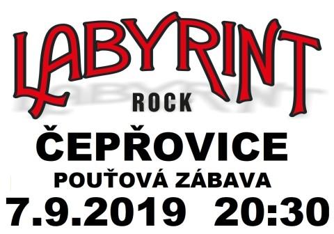 Labyrint plakát ČEPŘOVICE_2019