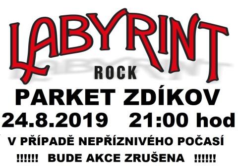 Labyrint plakát ZDÍKOV 2019