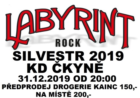 Labyrint SILVESTR 2019