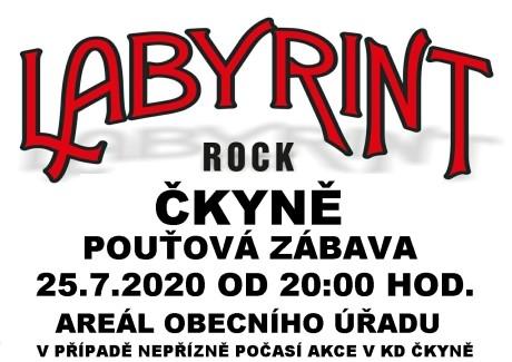 LABYRINT ČKYNĚ 2020
