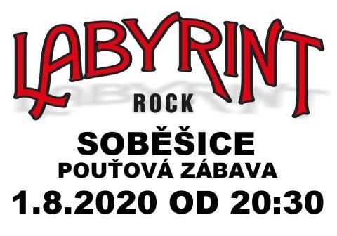 Labyrint plakát SOBĚŠICE 2020