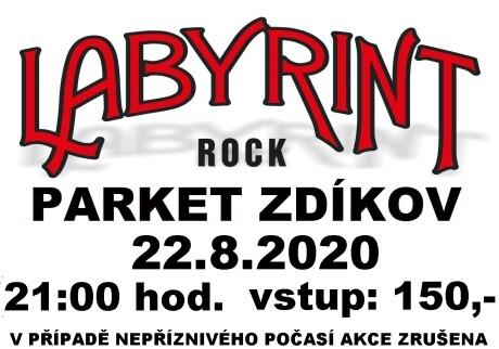 Labyrint plakát ZDÍKOV 20200822